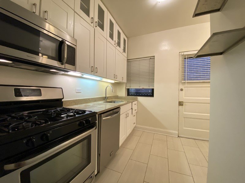 Stunning upgraded kitchen with stainless steel appliances