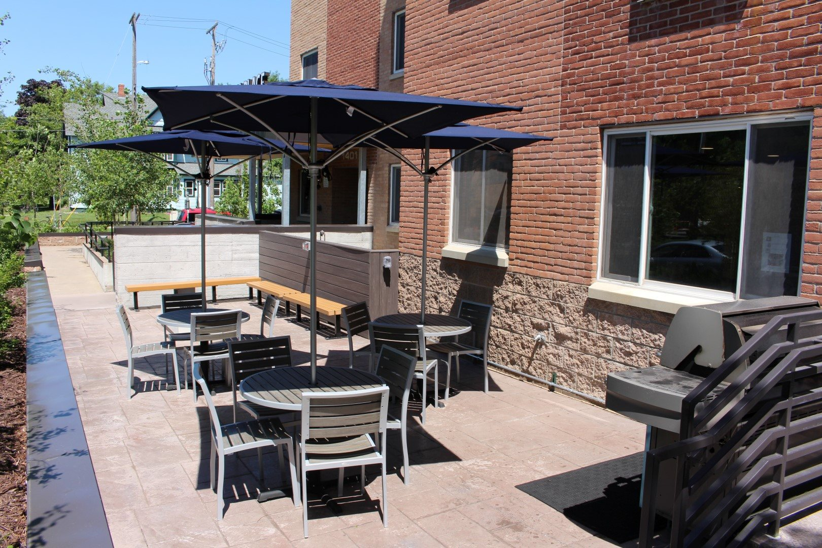 Bierman Place Exterior Patio
