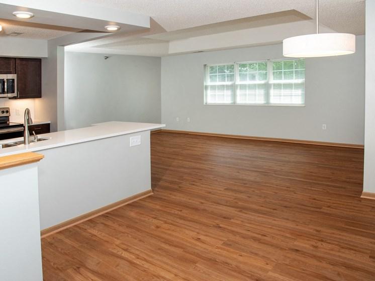 the pine open floor plan
