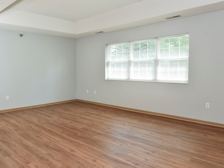 the pine living room with luxury vinyl tile