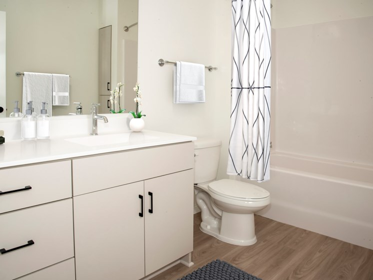 Luxurious Bathrooms at The Hill Apartments, Saint Paul, MN