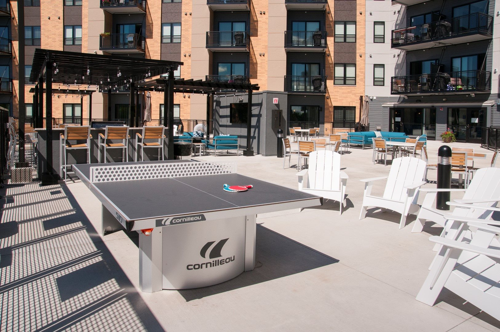 Outdoor Pool Sun Deck The Axis