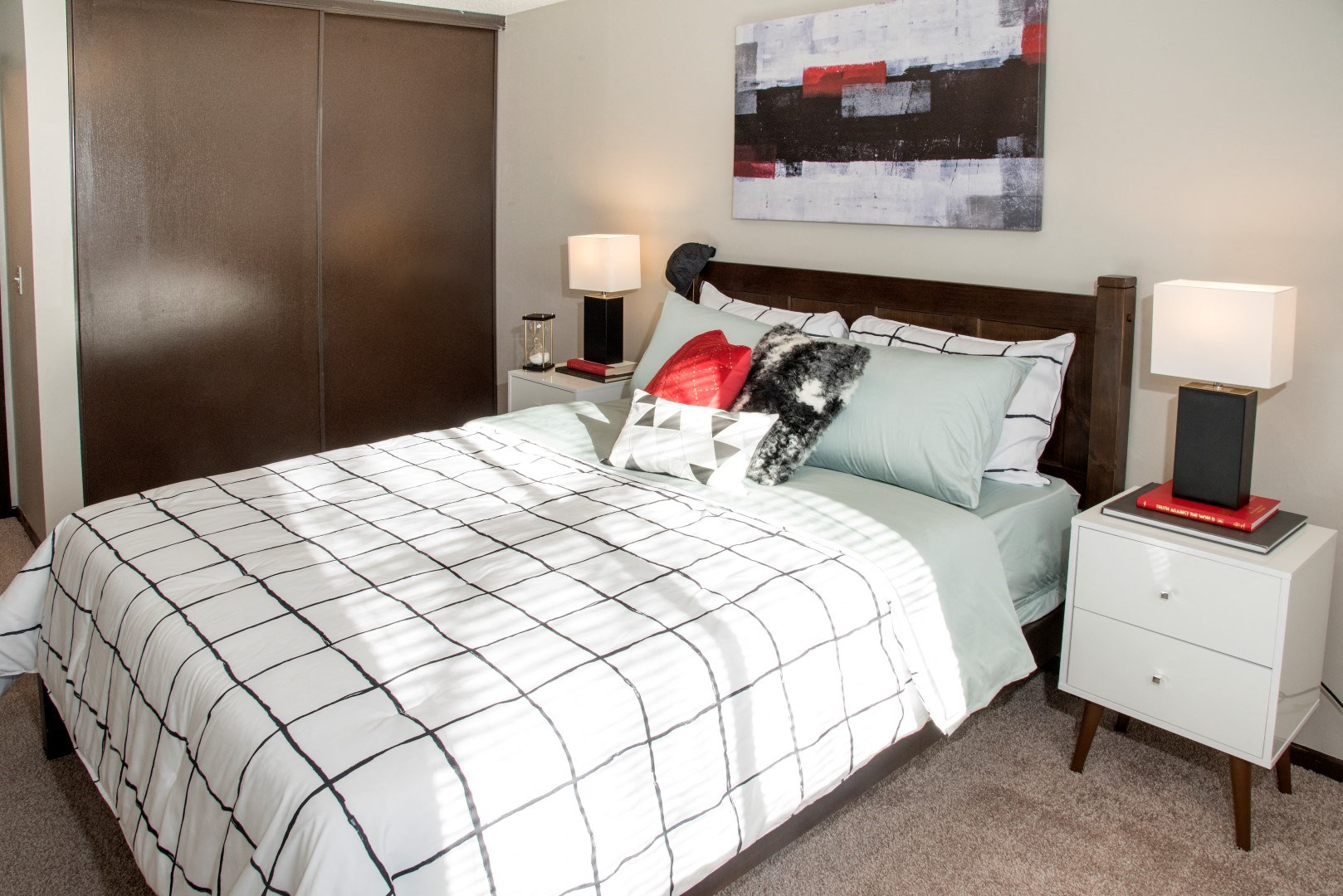 Well Appointed Bedroom at Eagan Place, Minnesota, 55123