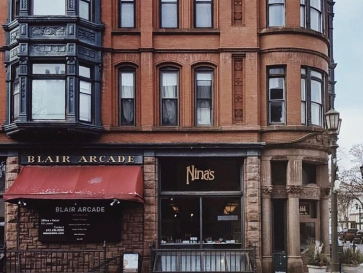 Nina's Coffee Cafe at The Hill Apartments, Saint Paul, MN