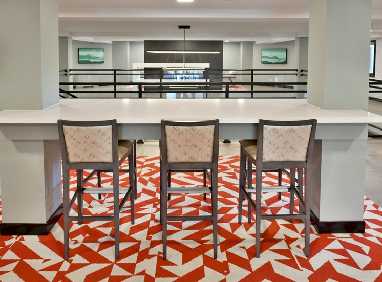lobby tech lounge