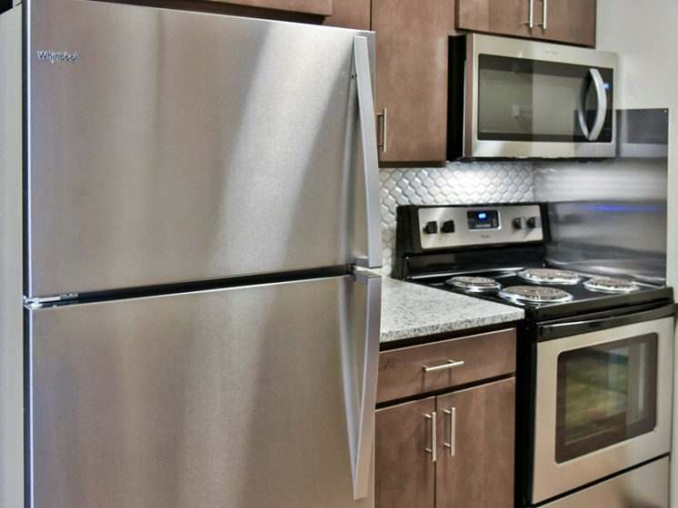 Stainless Steel Appliances at Eagan Place Apartments, Eagan, MN