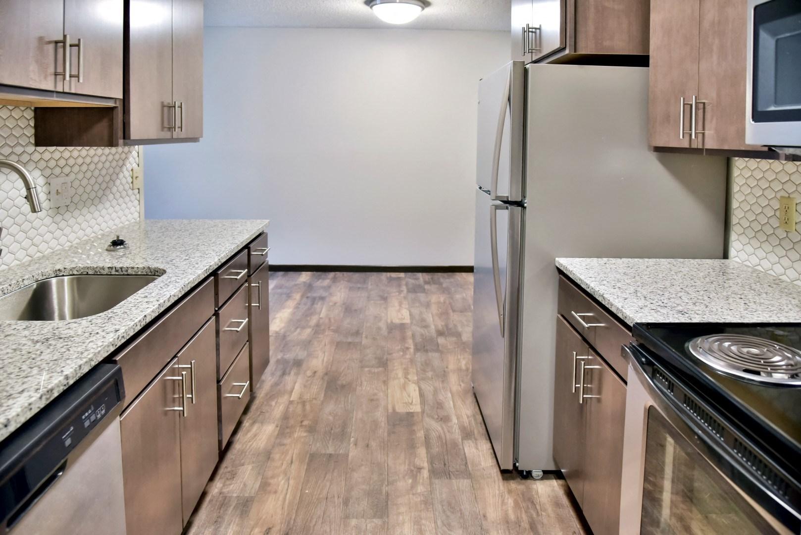 Dishwasher, Refrigerator, Microwave In Kitchen at Eagan Place Apartments, Eagan, 55123