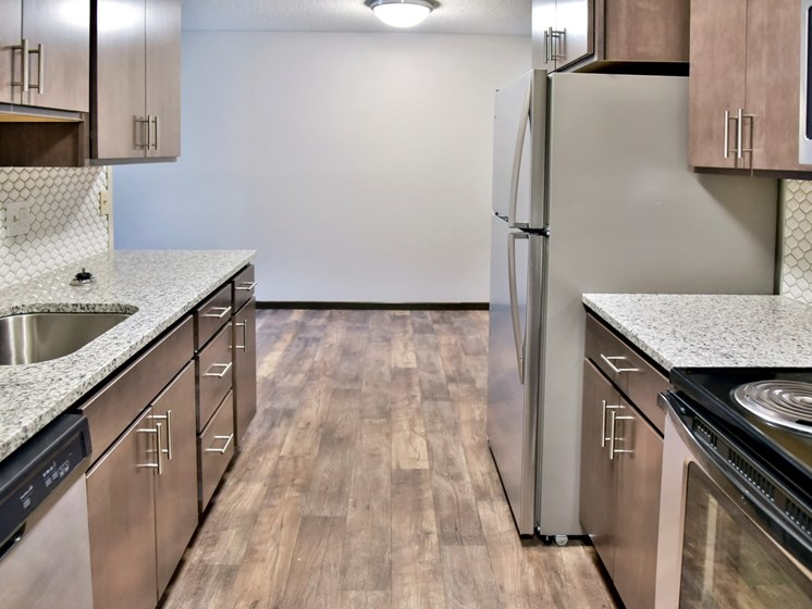 Dishwasher, Refrigerator, Microwave In Kitchen at Eagan Place Apartments, Eagan, 55123