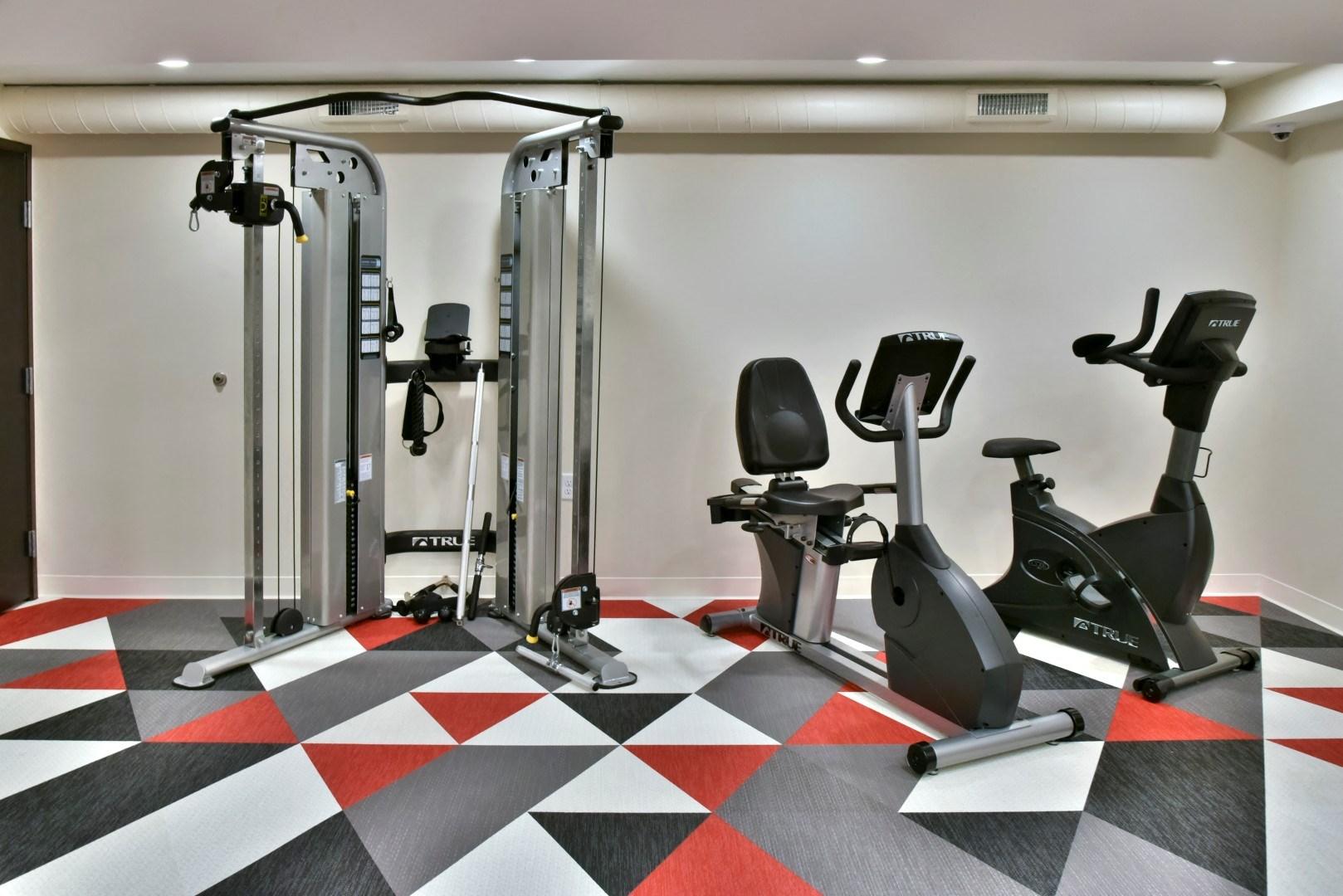Workout Equipment at Eagan Place Apartments, Eagan, MN