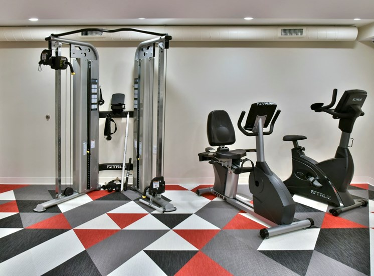 Workout Equipment at Eagan Place Apartments, Eagan, MN