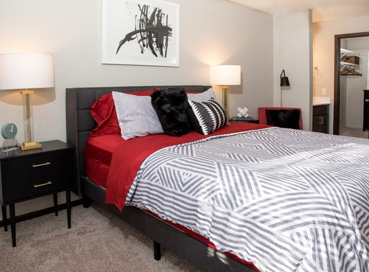Large Comfortable Bedrooms  at Eagan Place Apartments, Eagan, 55123