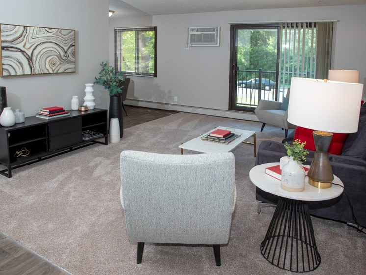 Living With Carpetingat Eagan Place Apartments, Eagan, MN