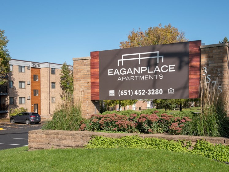eagan place apartments monument sign