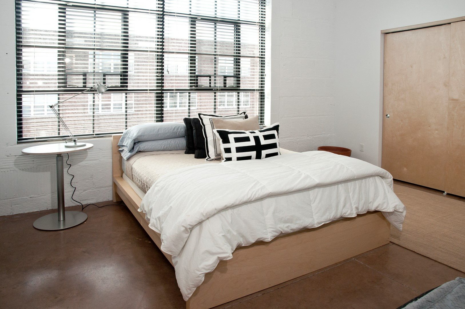 Gurley Lofts Model Bedroom