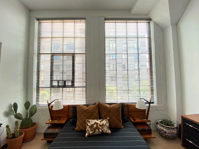 Gurley Lofts one bedroom large windows