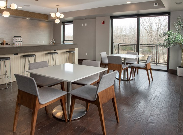 community room kitchen tables and chairs
