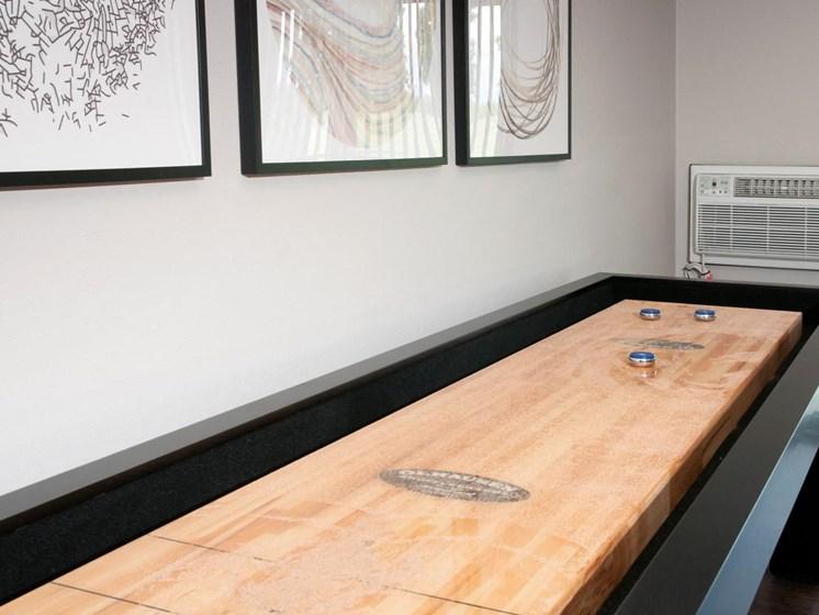 Shuffle Board at Eden Glen, Eden Prairie, Minnesota
