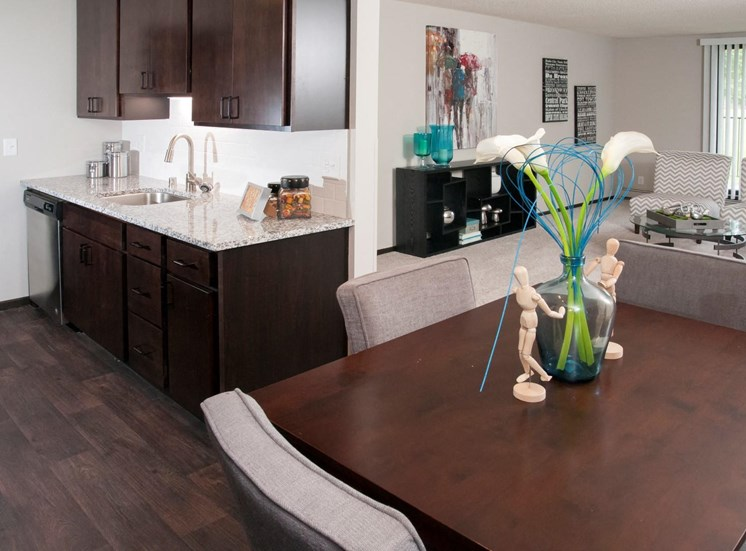 Spacious Kitchen with Pantry Cabinet at Eden Glen, Eden Prairie, MN 55344