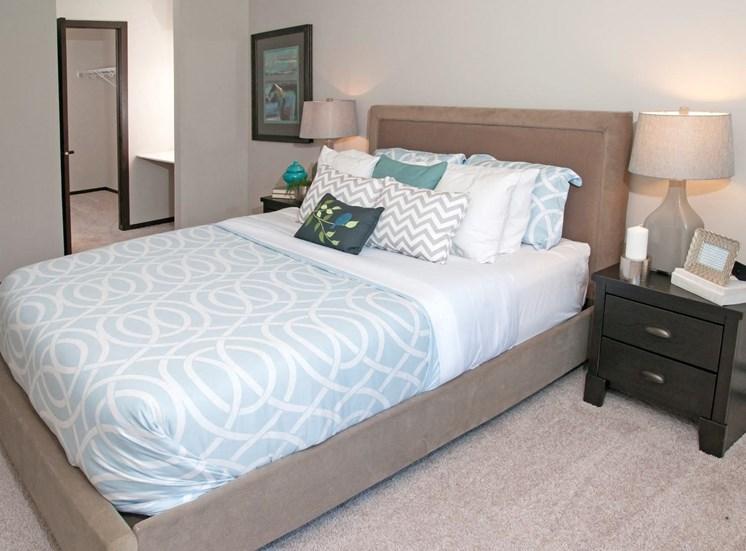 Beige Carpet in Bedroom at Eden Glen, Eden Prairie, 55344