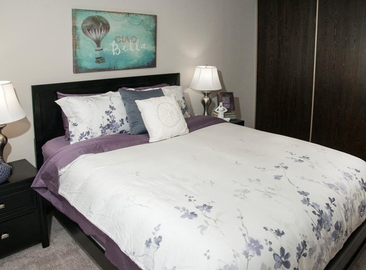 Private Master Bedroom at Eden Glen, Eden Prairie, MN 55344