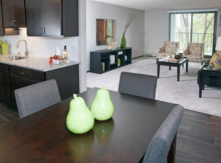 Plush Carpeting throughout Living Area at Eden Glen, Eden Prairie, 55344