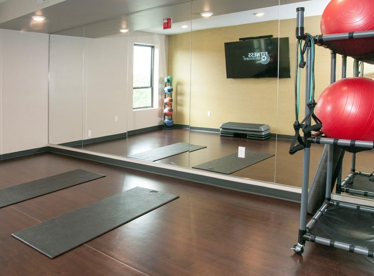 Fitness Center with Separate Spin Room at Martin Blu, Eden Prairie