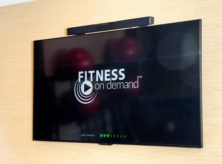 Fitness Center with TV at Martin Blu, Minnesota