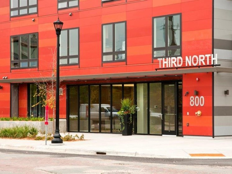 Main Entry To Building at Third North, Minneapolis, 55401