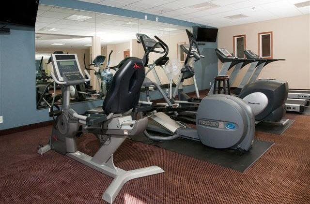 Fitness Center with Cardio Equipment And Free Weights at Waterstone Place, Minnetonka