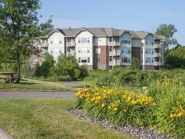 Beautiful Landscaping and Park-like Setting at Waterstone Place, Minnetonka, MN