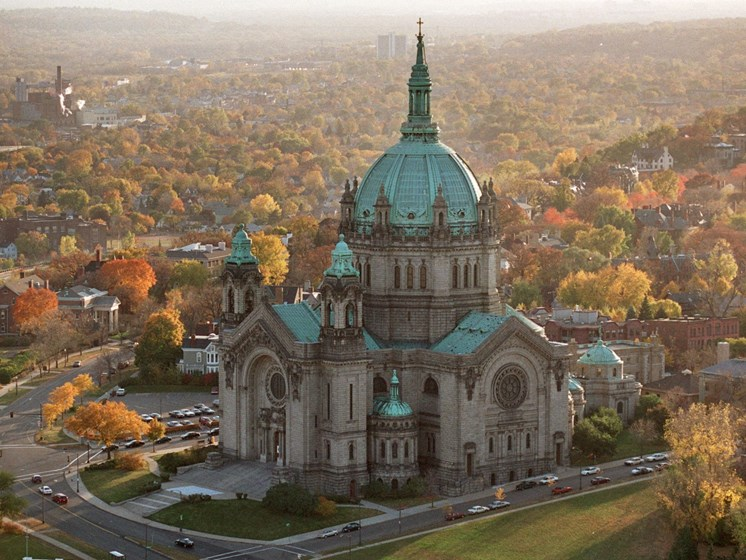 The St. Paul Cathedral at The Hill Apartments, Saint Paul, 55103