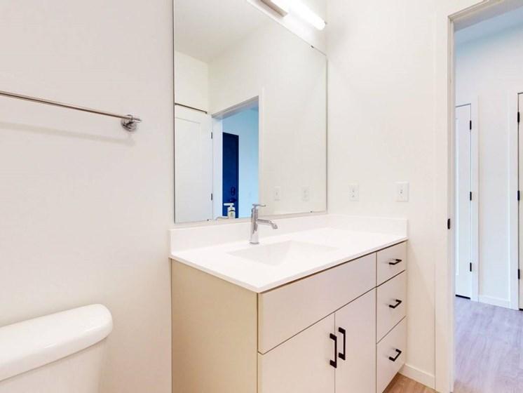 Bathroom Accessories at The Hill Apartments, Saint Paul, MN, 55103