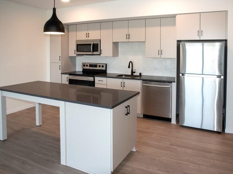 Kitchen Appliances at The Hill Apartments, Saint Paul, 55103
