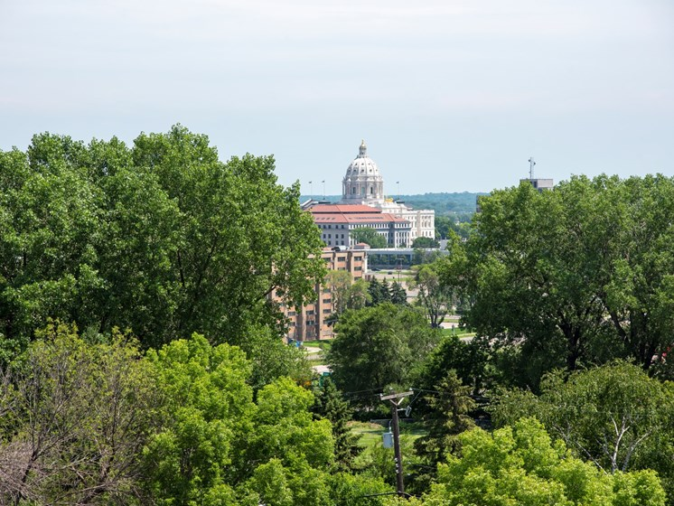Nature View at The Hill Apartments, Saint Paul, Minnesota