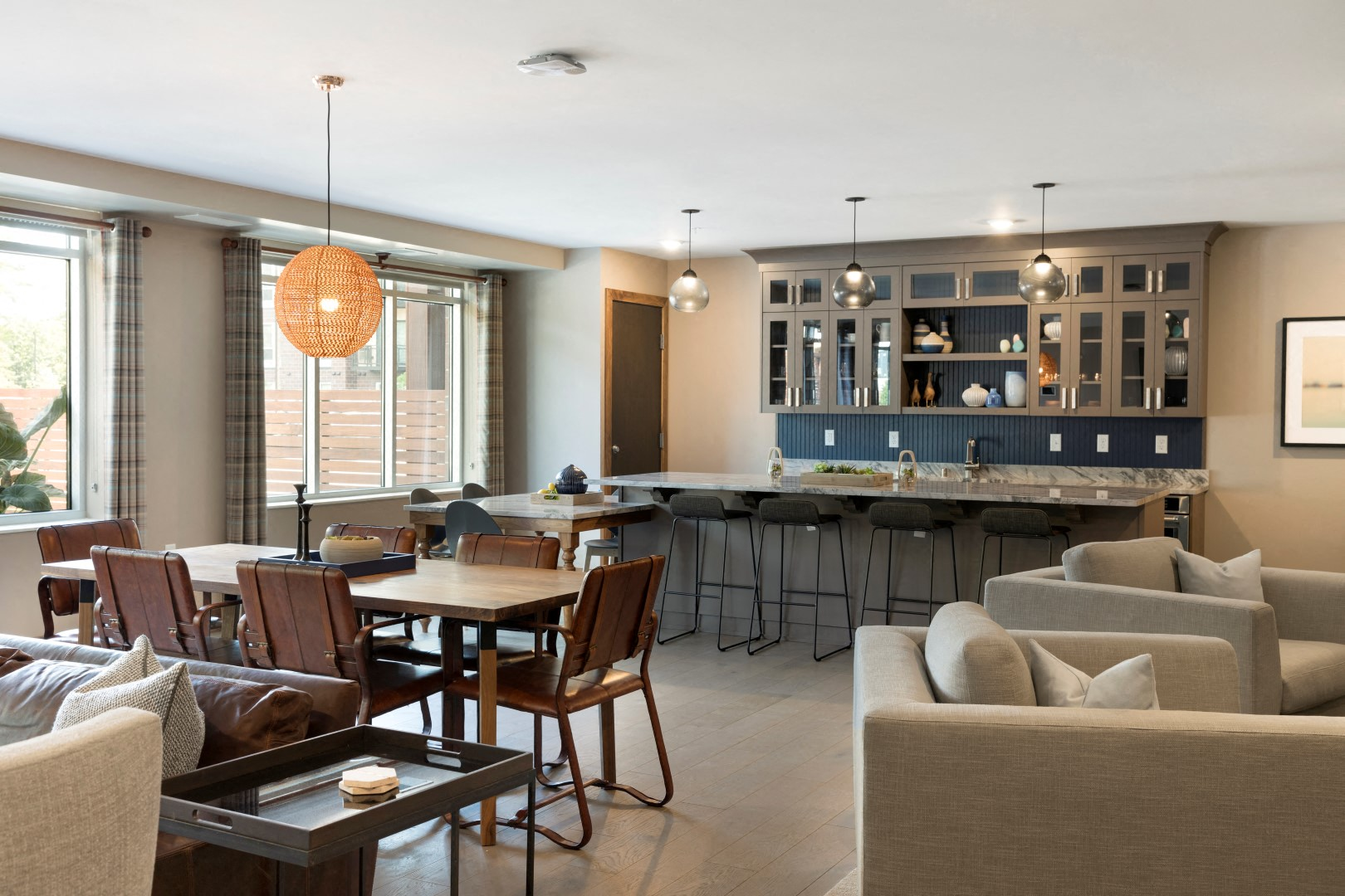 The McMillan Shoreview Club Room Community