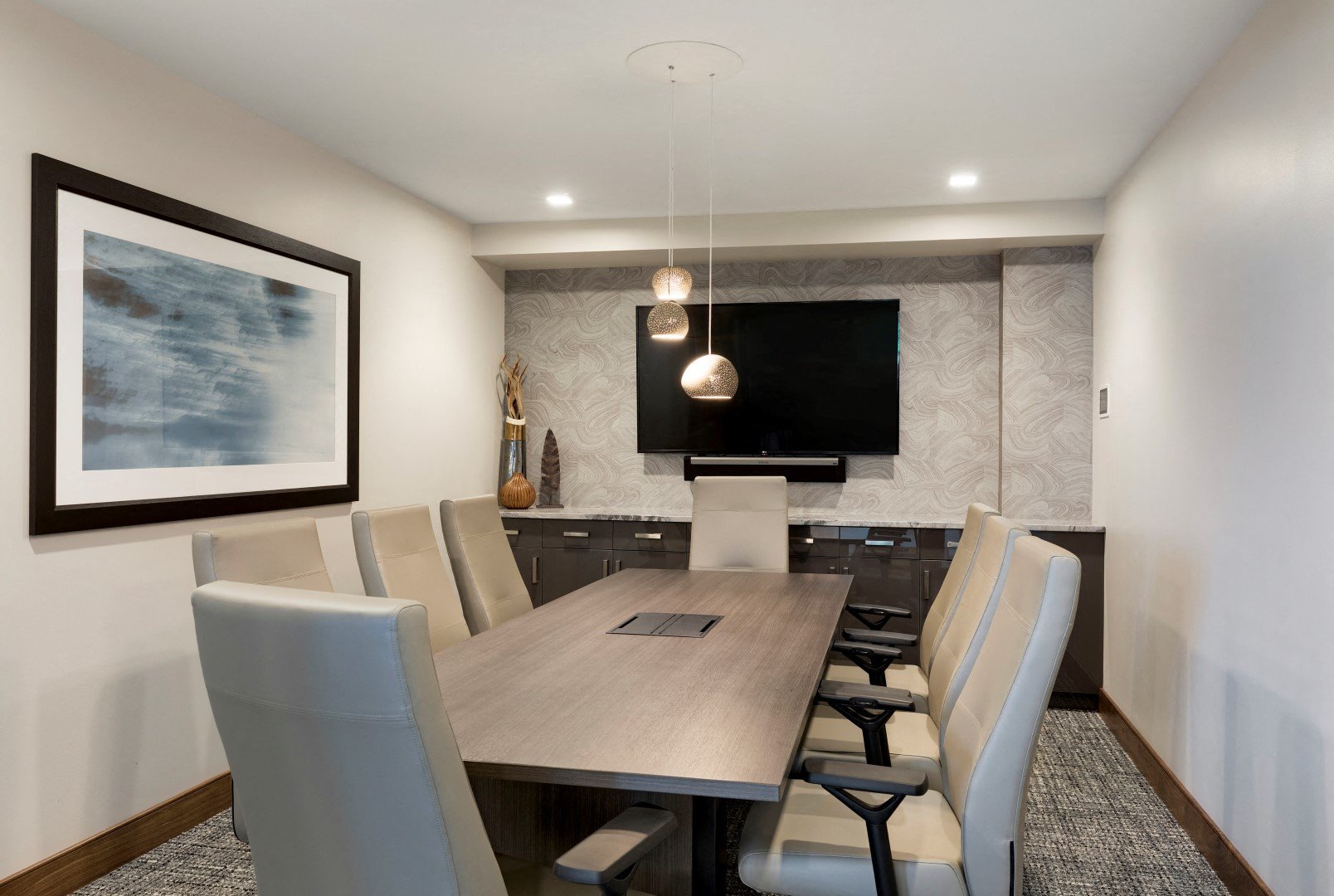 The McMillan Shoreview Meeting Conference Board Room Common Spaces