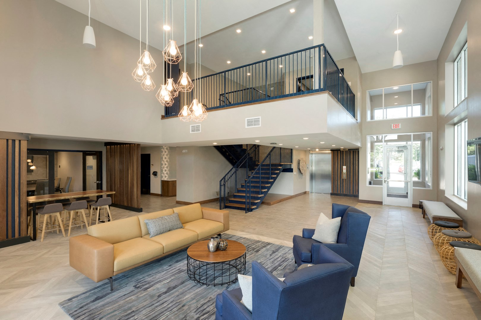The McMillan Shoreview Lobby Common Spaces