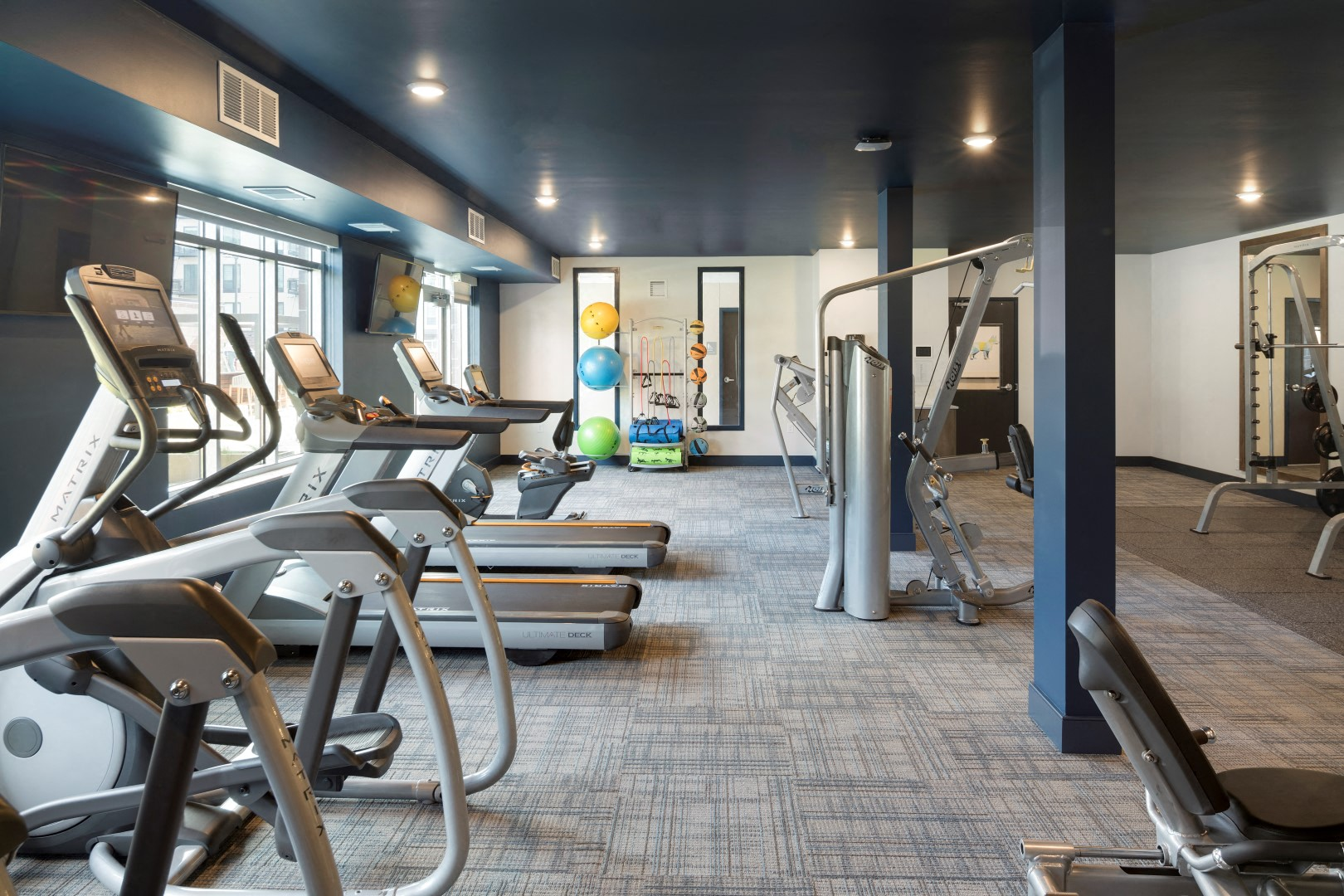 The McMillan Shoreview Fitness Center