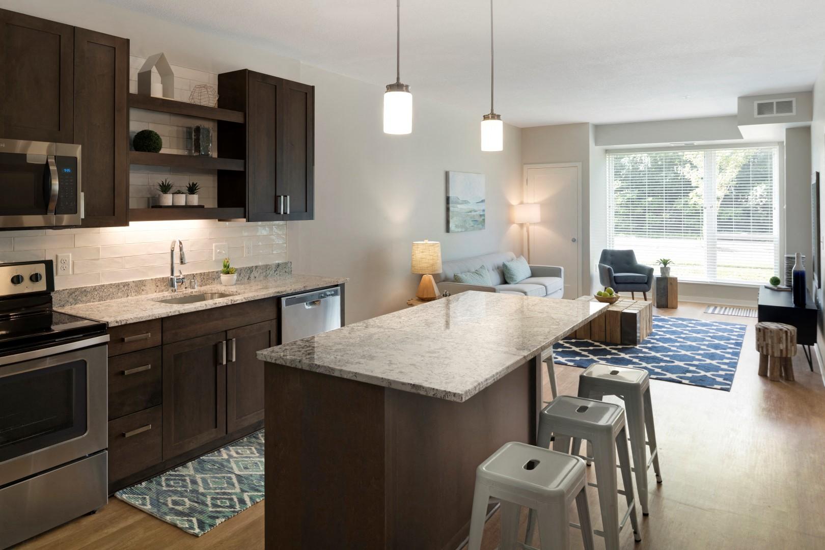 The McMillan Shoreview Model 108 Kitchen