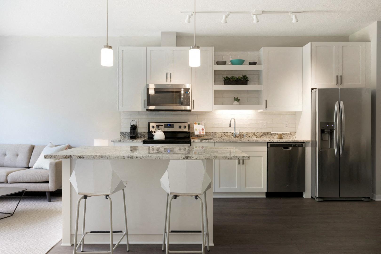 The McMillan Shoreview Model 201 Kitchen