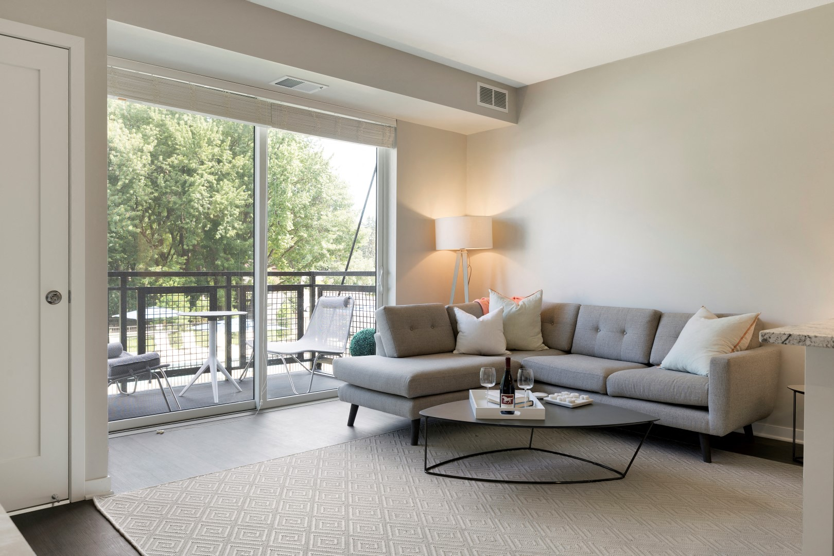 The McMillan Shoreview Model 201 Living Room