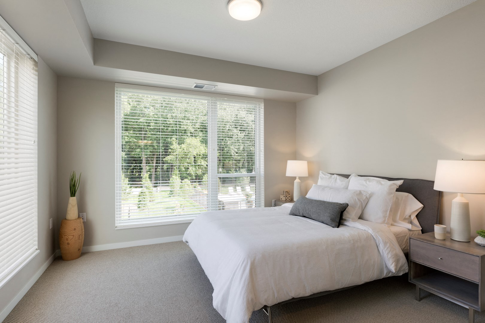 The McMillan Shoreview Model 201 Bedroom