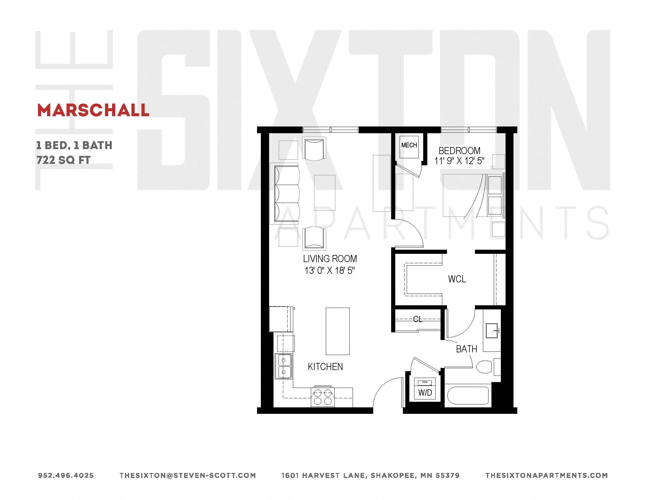 Studio, 1, 2 & 3 Bedroom Apartments in Shakopee, MN | The Sixton