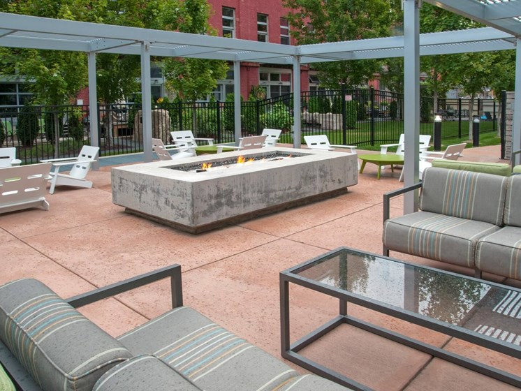 Courtyard Patio With Ample Sitting at Third North, Minnesota