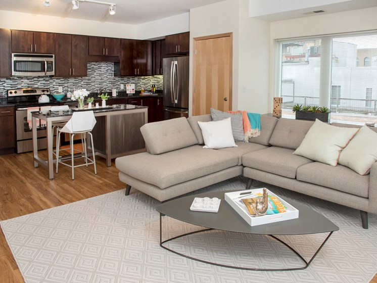 Versatile Open Concept Living Areas at Third North, Minnesota, 55401