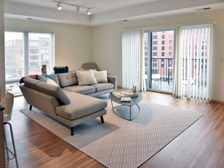 Naturally Lit Living Areas at Third North, Minnesota, 55401