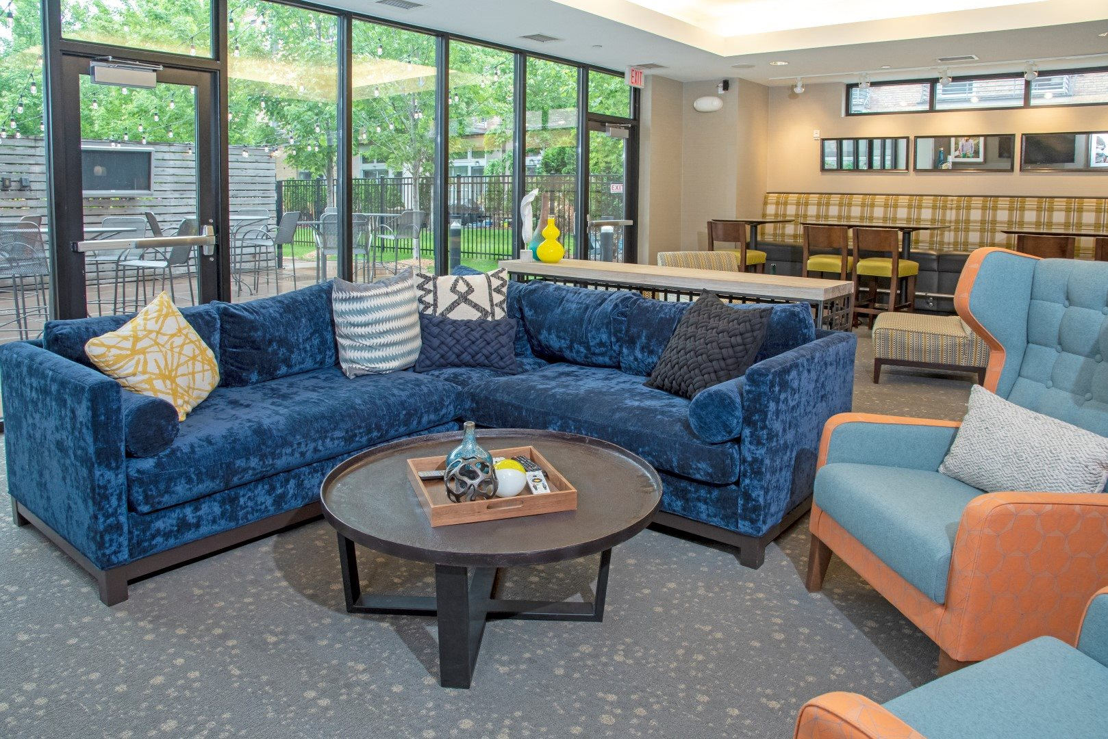 Cozy Couches in the Community Room at Third North, Minnesota, 55401
