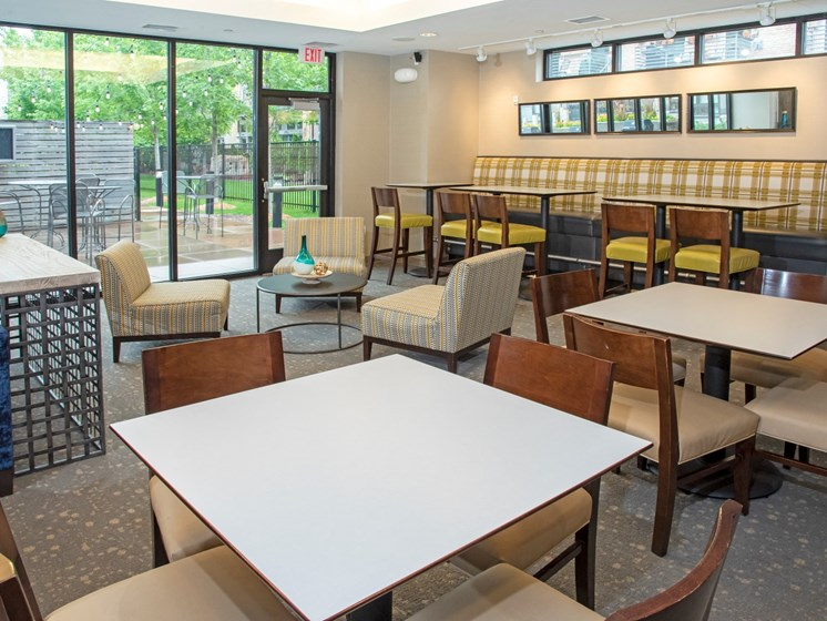 Array of Community Room Seating at Third North, Minnesota, 55401