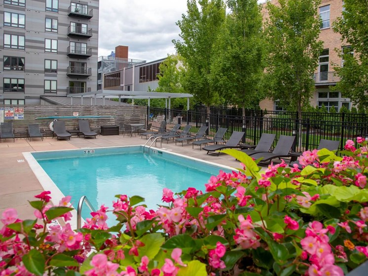 Swimming Pool And Sundeck at Third North, Minneapolis