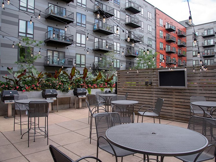 Outdoor Patio at Third North, Minneapolis, Minnesota